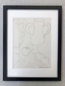 Nature Norte, La Cruche et les pommels ,  - Matisse - Print *Framed*