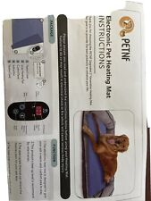 petnf Upgraded Pet Heating Pad for Dogs Cats with Timer,Safety Cat Dog Heating