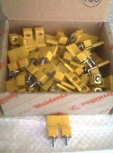 Box X 50 Weidmuller 1052560000 2-Way Terminal Block Jumper 10mm WDU10