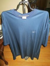 Men's Nike Navy Blue Short Sleeve Top Size Xl Very Good Condition