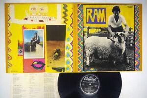 PAUL AND LINDA MCCARTNEY RAM APPLE EPS-80232 Japan VINYL LP