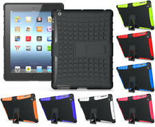 GRENADE RUGGED TPU SKIN HARD CASE COVER STAND FOR iPAD 2nd 3rd 4th GEN 2/3/4
