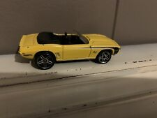 HOT WHEELS 69 CAMARO CONVERTIBLE loose from Chevy 5 pack 2011 yellow