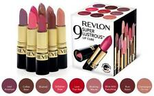 REVLON SUPER LUSTROUS 9 LIPSTICK SET LIP CUBE **BRAND NEW & SEALED**