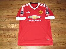 Rooney Manchester United Match Un Worn Player Issue Adizero Jersey Shirt FA Cup