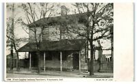 Early 1900s First Capital Indiana Territory, Vincennes, IN Postcard