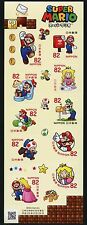 Japan 2017 Super Mario Computerspiel Zeichentrickfiguren Comics Cartoons MNH