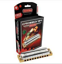 Clean sounding Hohner Crossover Marine band Diatonic harmonica, Key of C.