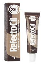 RefectoCil Nr.3 Naturbraun Augenbrauenfarbe Wimpernfarbe Bartfarbe 15ml Stäbchen