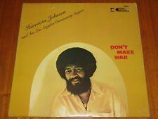 HARRISON JOHNSON - DON'T MAKE WAR - RARE SEALED SOUL BLACK GOSPEL ON CREED LP