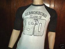 vintage GIBSONBURG CLASS OF '90 SHIRT Ohio jersey MED