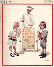 1913 Life August 21 - What is the worst summer resort? elastic autos; Ice Cream