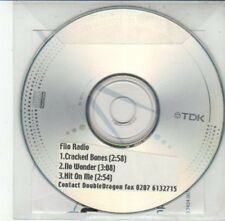(DG276) Filo Radio, Cracked Bones / No Wonder - DJ CD