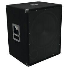 NEU Lautsprecher PA Subwoofer Box Beschalung Disco Club 1200W Boxen Big Light