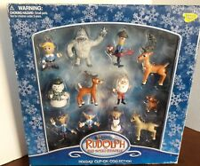 "MEMORY LANE RUDOLPH RED NOSED REINDEER HOLIDAY CLIP-ON COLLECTION  ""NIB"""