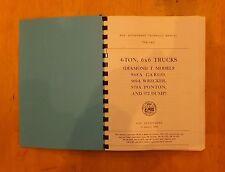 Diamond T.Technical Manual.TM9-811