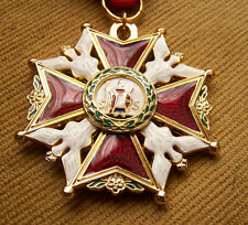 T Great POLISH ORDER CROSS OF SAINT JOSEPH POLAND BEAUTIFUL MEDAL HOLY STANISLAW