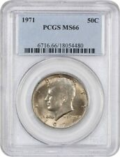 1971 50c PCGS MS66 - Kennedy Half Dollar