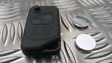 P38 Range Rover Botón Remoto Clave Fob Funda cierre centralizado y 3V Baterías