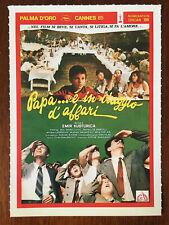Collezione Cinema Ciak Mini Locandina Film Papà ... è in viaggio d'affari