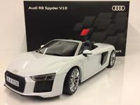 Audi R8 Spyder V10 Suzuka Grey 1:18 Scale iScale 5011618551