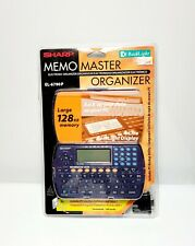 Sharp EL-6790P Memo Master Organizer 128KB  Back Light Computer Sync NEW