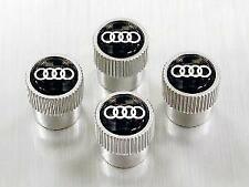 Genuine  Carbon Fiber Valve Stem Caps With Audi Rings zaw071215