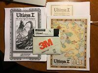 Origin Systems Ultima I video game for Apple II IIe IIc 2e 2c 2 1986