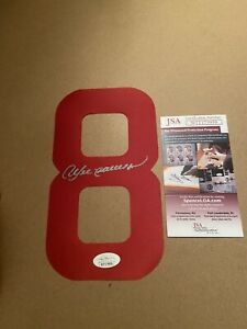 Chicago Cubs ANDRE DAWSON Signed Autographed Baseball Jersey Number JSA