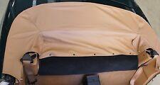 Mazda MX-5 NB Persenning  beige dunkelbeige Abdeckung  NEU Leder Lederabdeckung