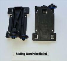 00-5024 Stanley spacepro sliding wardrobe top wheels guides x2