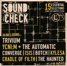 """Sound Check No.90""-Rare Promo Sampler CD-Trivium/Cradle Of Filth-Punk/Metal-NEW"