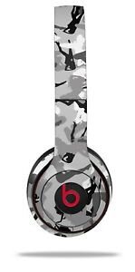 Skin Beats Solo 2 3 Sexy Girl Silhouette Camo Gray Headphones NOT INCLUDED