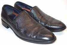 Cole Haan Grand OS Black Leather Slip On Venetian Loafer Dress Shoes Men's 11.5