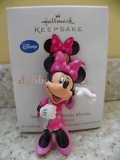Hallmark 2011 Sweetheart Minnie Mouse Disney Christmas Ornament