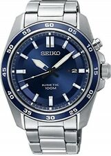 SEIKO SKA783P1 Kinetic Gents Sports Blue Dial Date WR 100M 2 Year Guar RRP £269