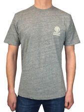 FRANKLIN & MARSHALL CREW NECK COTTON T-SHIRT IN GREY MARL / ALL SIZES //
