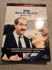 'Allo 'Allo! - Series 1 & 2  [DVD] [1982] - DVD  8UVG The Cheap Fast Free Post