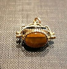An Antique 9ct Gold Pocket Watch Fob Pendant. 2.56 Grams.