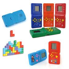 Random Tetris Handheld LCD Electronic Brick Game Riddle Educational Toys