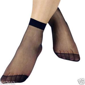 10 Pairs Women's Summer Socks Crystal Thin Transparent Silk Short Socks Hotsale