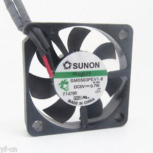 4pcs SUNON MagLev GM0503PEV1-8 30x30x6mm 3006 DC 5V 0.7W 2pin DC Cooling fan