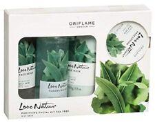 New Oriflame Sweden Love Nature Facial Kit Tea Tree 425 ml Free Shipping