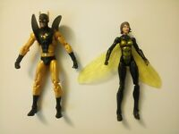 Marvel Universe Yellow Jacket And The Wasp 3.75 Inch Action Figures! Avengers