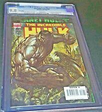 INCREDIBLE HULK 100 CGC 9.8 1/07 Amadeus Cho Appearance Green/Grey Hulk Variant