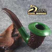 Mr.Balandis Original Briar Handmade Tobacco smoking pipe CALABASH  Ho Ho Holiday