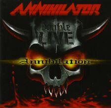 ANNIHILATOR - DOUBLE LIVE ANNIHILATION 2 CD NEU