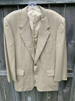 Hickey Freeman Blazer 100% Cashmere Jacket Sport Suit Coat Size 42R