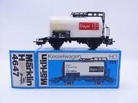 LOT 47011 | Märklin H0 4647 Kesselwagen Bayer Ustinex in OVP