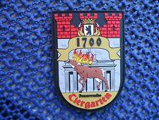 Abzeichen BF Berlin Tiegarten, Feuerwehr, Brandschutz, Rettungsdienst